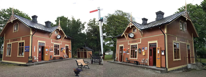 Hesselby station den 28 juli 2016