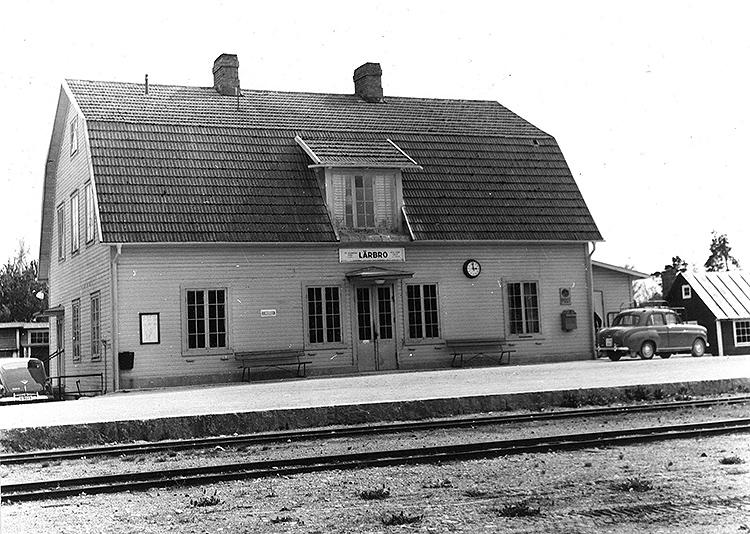 Lärbrostation 1960.Foto: SJ